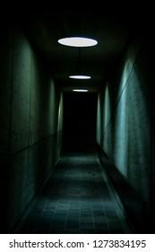 old dark tunnel