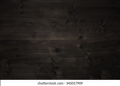 Old dark wood table top timber background texture