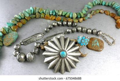 Native American Jewelry Images, Stock Photos & Vectors