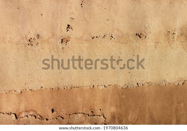old decay brown paper abstract background, old paper sheet for full frame background