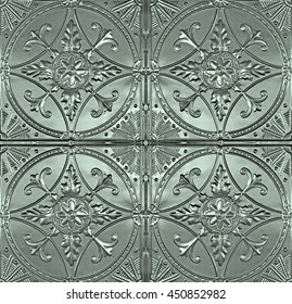 Old decorative Ceiling Tin Tiles