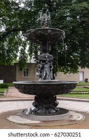 Old decorative fountain
