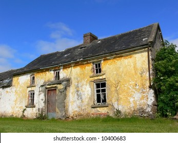 Old derelict house in Ireland