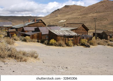 Old deserted Mining Town Bodie in California