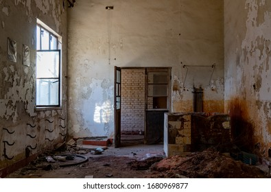 An old destroy abandoned house.
