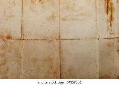 Old dirty antique blank paper textured background