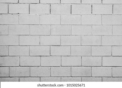old and dirty cement cinder block wall texture - background
