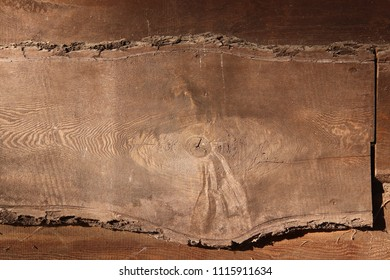 Old dirty plank - abstract wooden texure