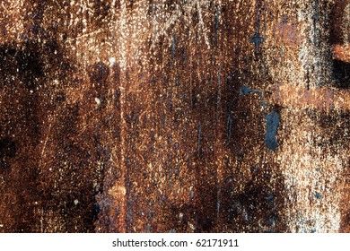 Old dirty rusty steel metal textured background