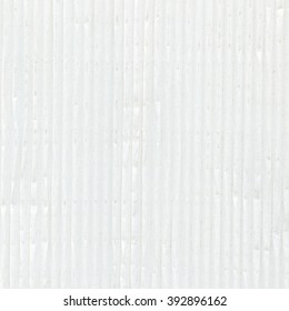old and dirty sheet of white corrugated paper. Useful as background