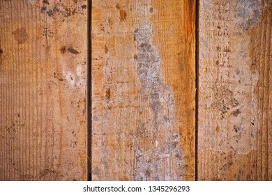 Old dirty wooden plank background. Close up.