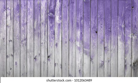 old dirty wooden wall, ultra violet