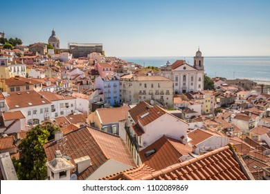 Old district of Lisbon Portugal