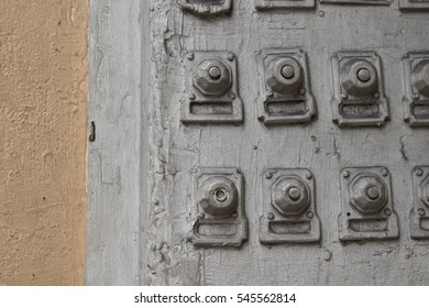 Old door bells on the side of a building - French Quarter, New Orleans, LA, USA