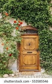 An old door in Cesky krumlov