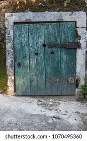 old door in lisbon