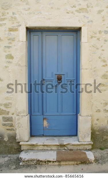old door in Provence