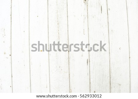 Old Door Texture For Add Text Or Graphic Design White Wood Planks Panel Background