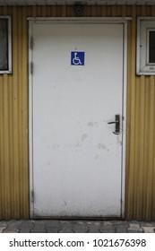 Old door texture cracked wooden paint