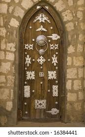 old door in timbuktu
