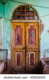Old door in upper Egypt, Nuba