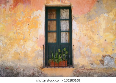 Old door in Uruguay Latin america
