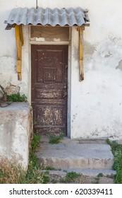 Old door visor