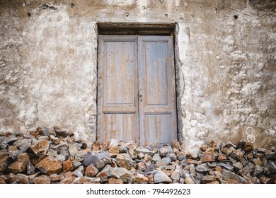 old door wood stone texture