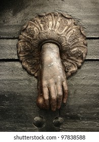 the old doorknocker
