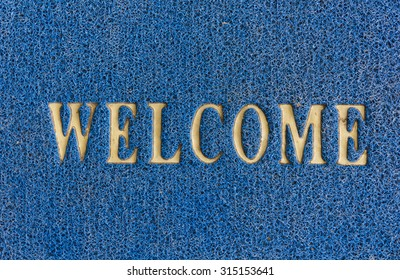 The old doormat of welcome text.