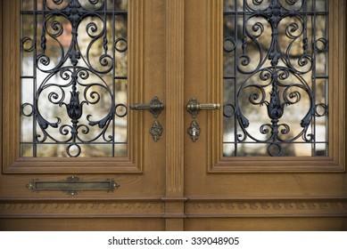 Old doors handles locks lattices and windows & Lattice Doors Images Stock Photos \u0026 Vectors | Shutterstock