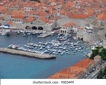 The Old Dubrovnik Harbour is always busy with the traffic of small craft coming and going to Cavtat and Lokrum.