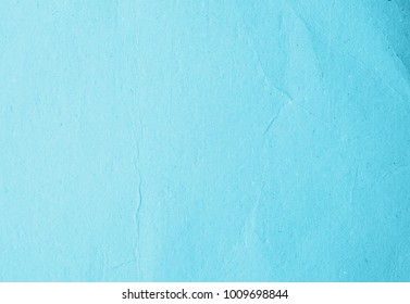 Old eco blue paper kraft background texture in soft white light teal color concept for page wallpaper design, turquoise matte pattern for decorative wall.
