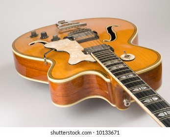 Old electric archtop jazz guitar c1964