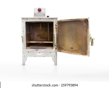old electric oven.
