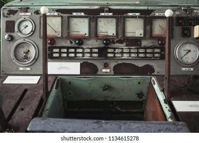 Old electrical equipment, control room