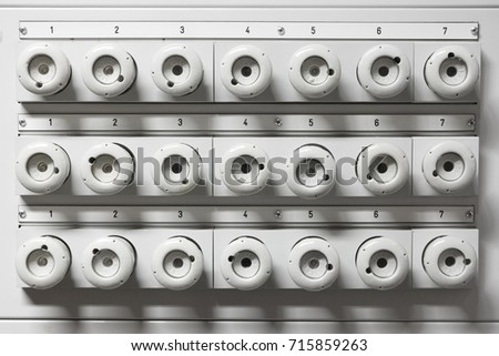 old electrical fuse box porcelain fuses stock photo edit now rh shutterstock com  old style electrical fuse boxes