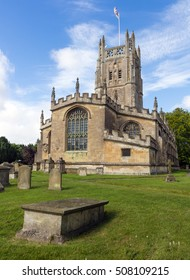 Old English church in the Cotswolds