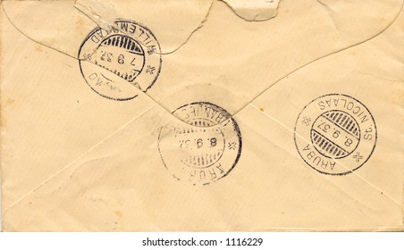 Old envelope from the 1930's