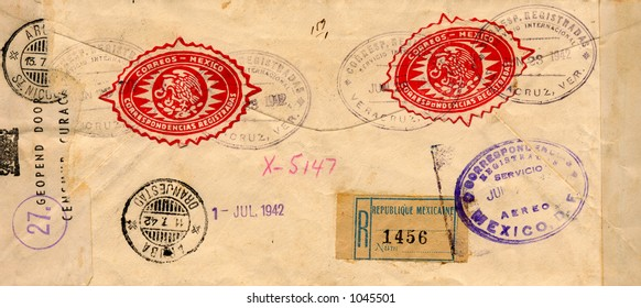 Old envelope from the 1940's