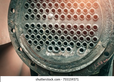 Old equipment of shell and tube heat exchanger to the repairing