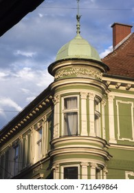 Old European city in summer