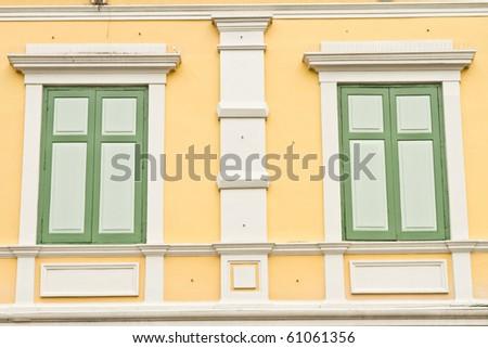 european style windows tilt turn old european style windows style windows stock photo edit now 61061356