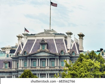 Old Executive Office Building Dwight Eisenhower Building, Vice President's Office Washington DC.  Located next to White House, built from 1871 to 1888