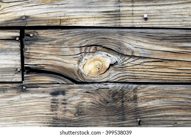 Old Exterior Wood Surface