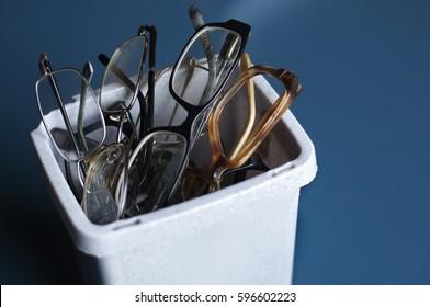Old eyeglasses