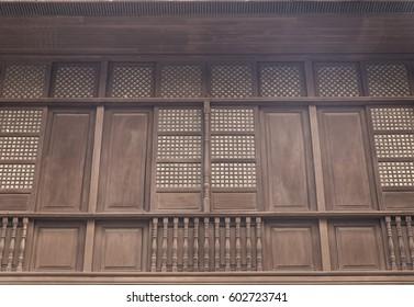 old facade-manila