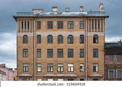 The old facades