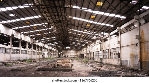 old factory become deserted factoryafter war