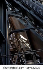 """Old factory building in """"Landschaftspark Duisburg"""""""